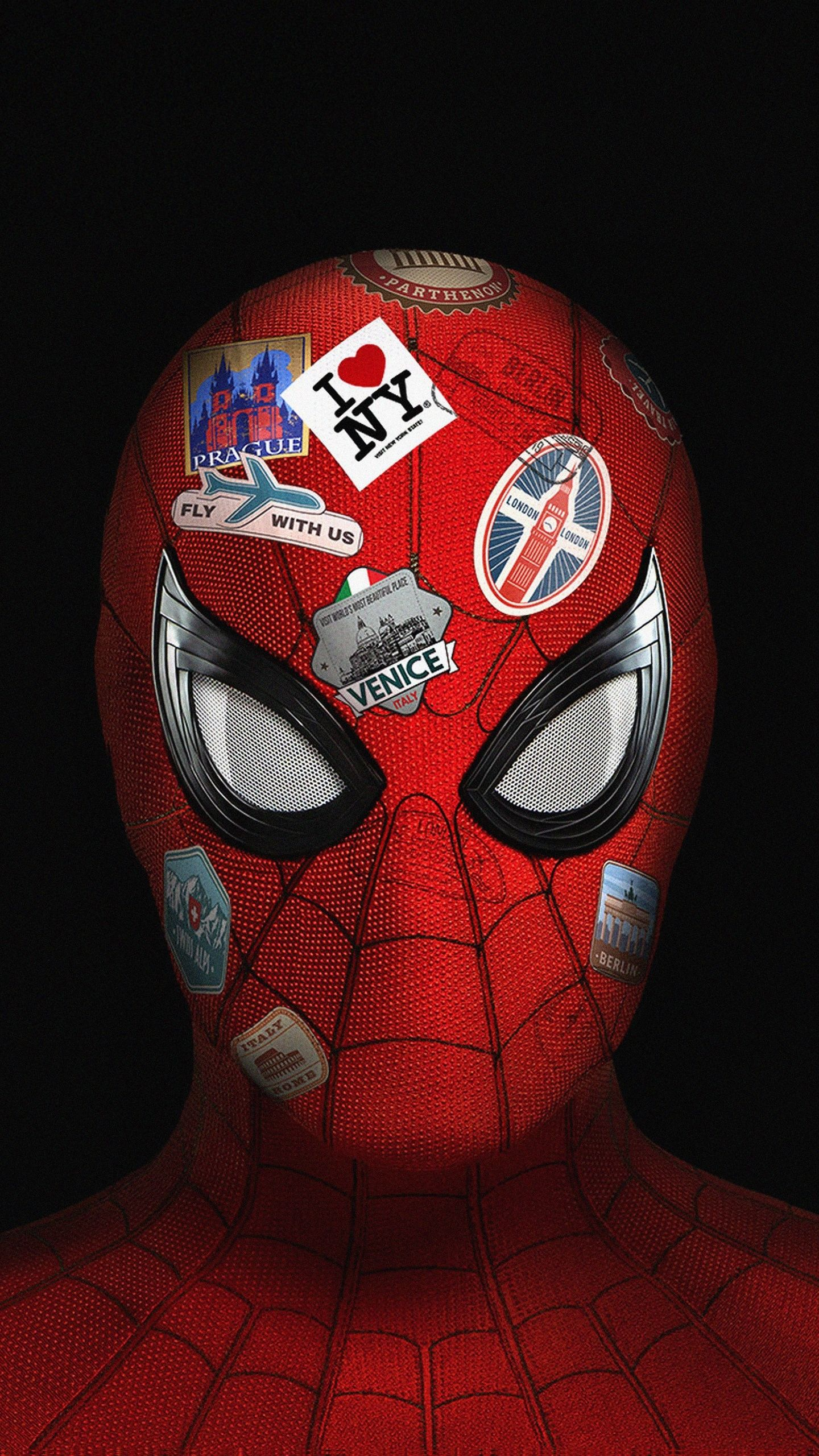 1440x2560 Spiderman Far From Home, cover, art wallpaper
