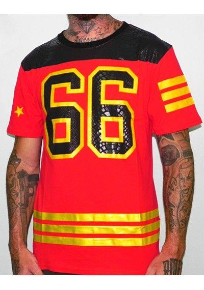 Camiseta Enyce 66 Roja - Tienda de ropa hip hop  f9445ef684a