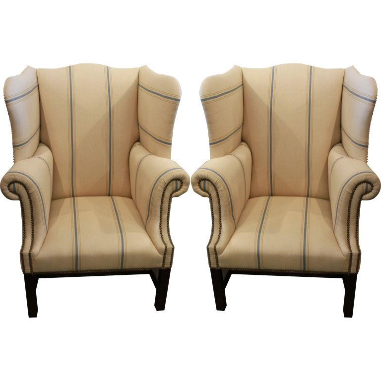 Pin By Pauline On Chairs Wing Chair Chair Wingback