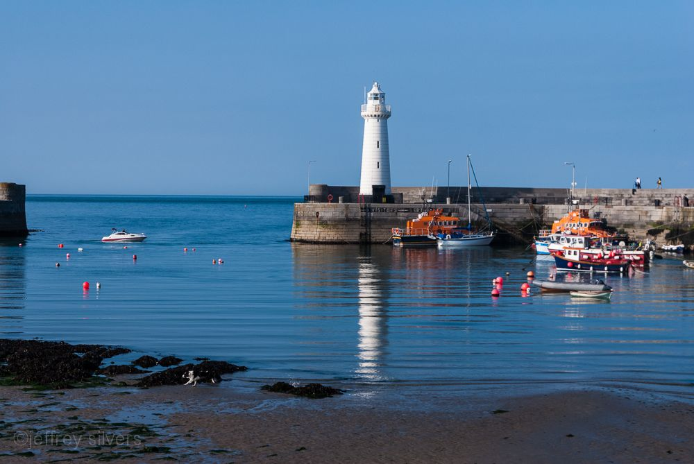 Donaghadee Harbour and Lighthouse