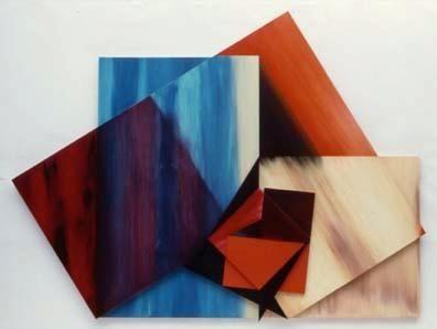 Rockburne, Dorothea (1932-) Narcissus Date: 1984 Movement: Minimal Painting Theme: Mythology Technique: Oil on canvas