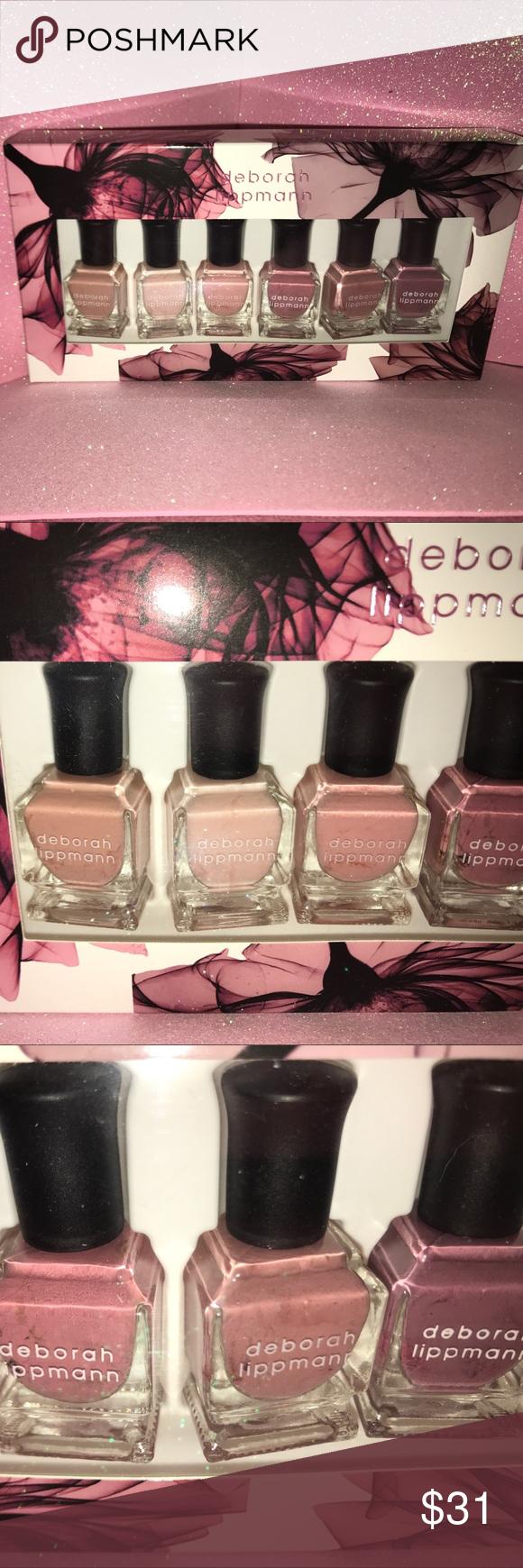 Deborah Lippmann Bed of Roses Nail Polish Set | Neutral nail polish ...