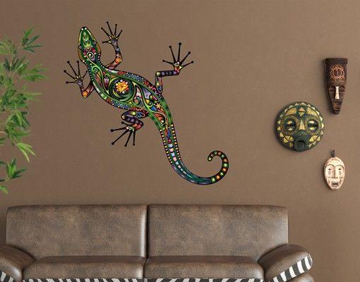 Wandtattoo Gecko No.652 Geckomuster   Wandtattoo, Wandgestaltung und ...