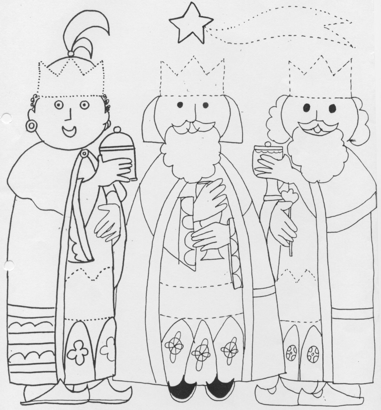 Christmas Coloring Pages 162