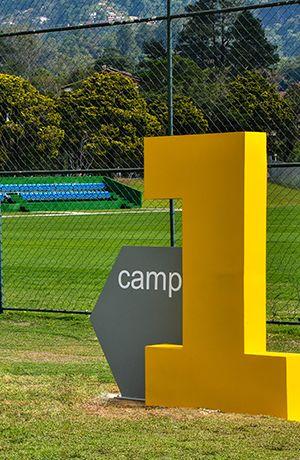 CBF   corporate   interior   branding   signage   brazilian soccer   by Packaging Brands