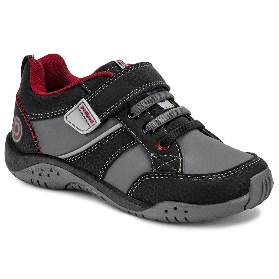 Flex Justice Black Red Pediped Footwear Comfortable Shoes For Kids Infant Baby Toddler Youth Shoes Kid Shoes Youth Shoes Boys Boots