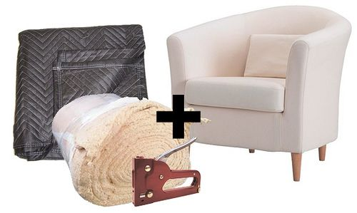 How To Turn Ikea S Tullsta Chair Into A Designer Piece Ikea Chair Makeover Chairs Repurposed Slipcovers For Chairs