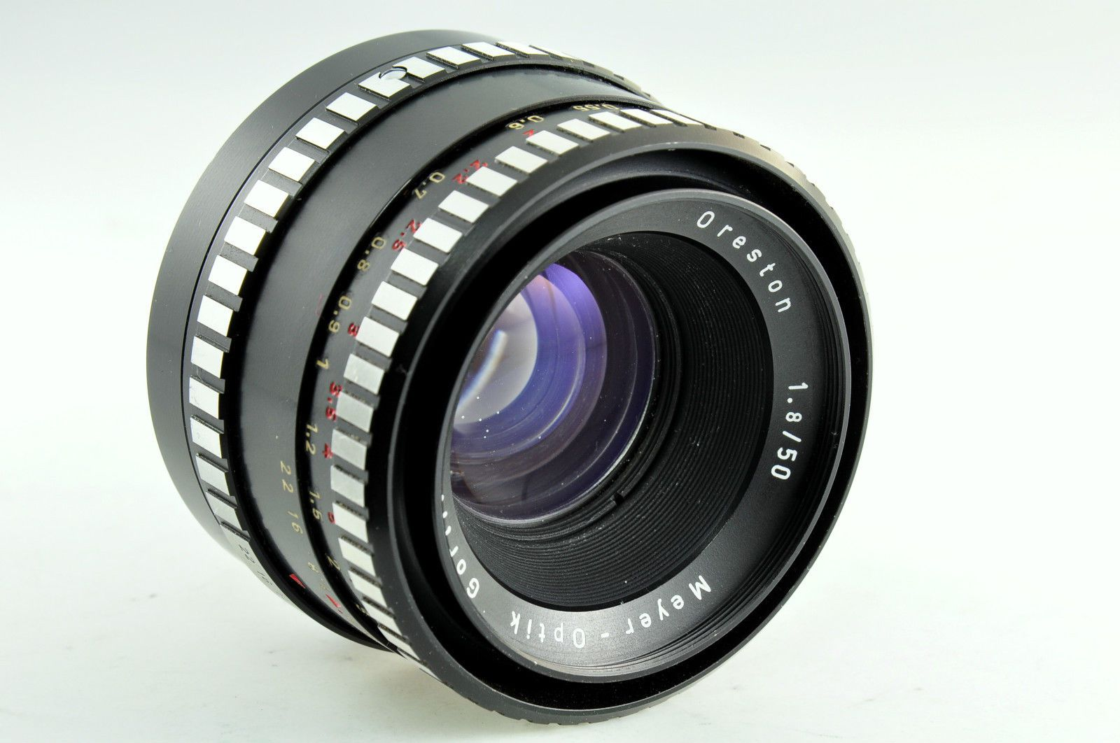 Lens Meyer Optik Görlitz Oreston 1 8 50 M42 Thread | eBay