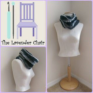 Forever Changing Cowl free crochet pattern - The Lavender Chair