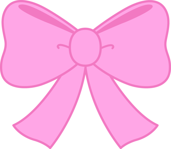 cute pink bow clipart png 550 479 salon pinterest pink rh pinterest com pink ribbon clip art images pink ribbon clipart