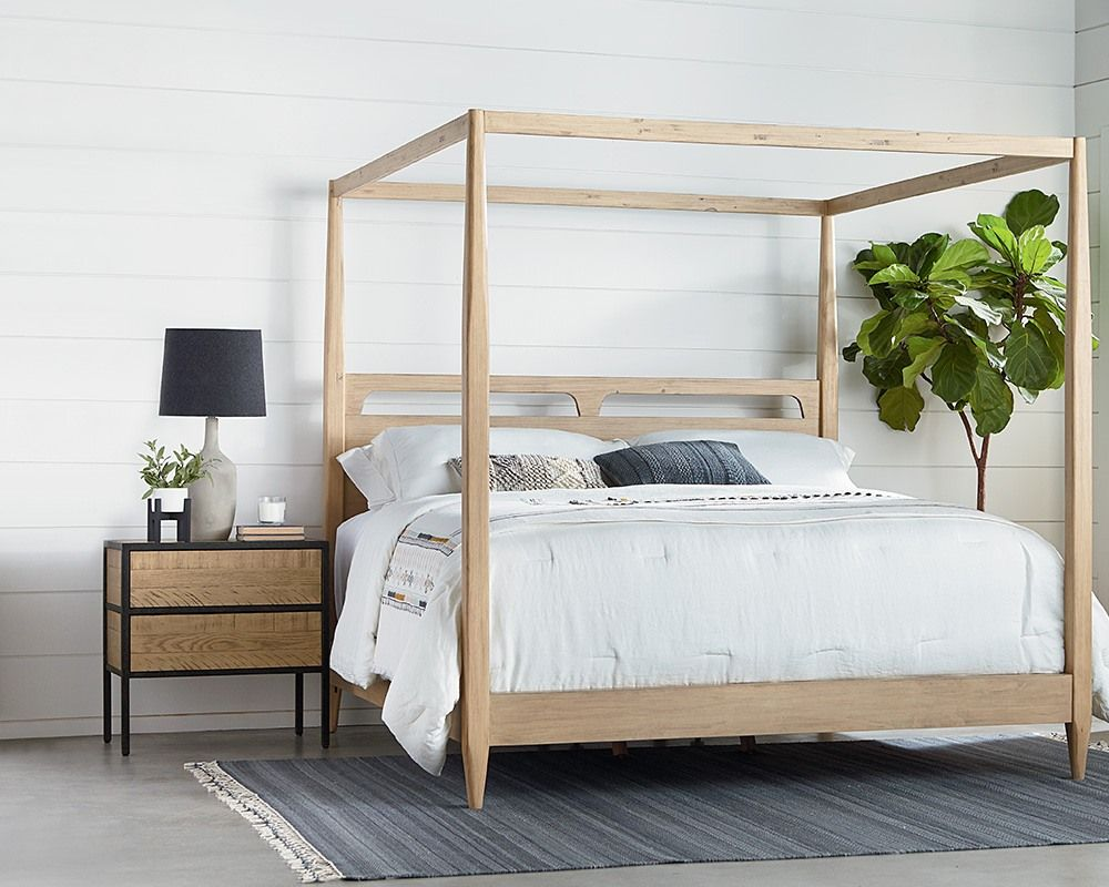 pin by union furniture and flooring on magnolia home furniture and accessories canopy bed. Black Bedroom Furniture Sets. Home Design Ideas