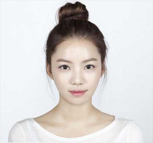 korean high bun hairstyle bun hairstyle pinterest