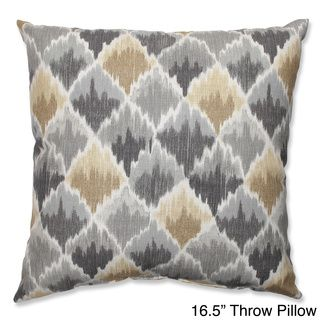 Baroque Bargello Shale Throw Pillow | Overstock.com Shopping - Great Deals on Pillow Perfect Throw Pillows