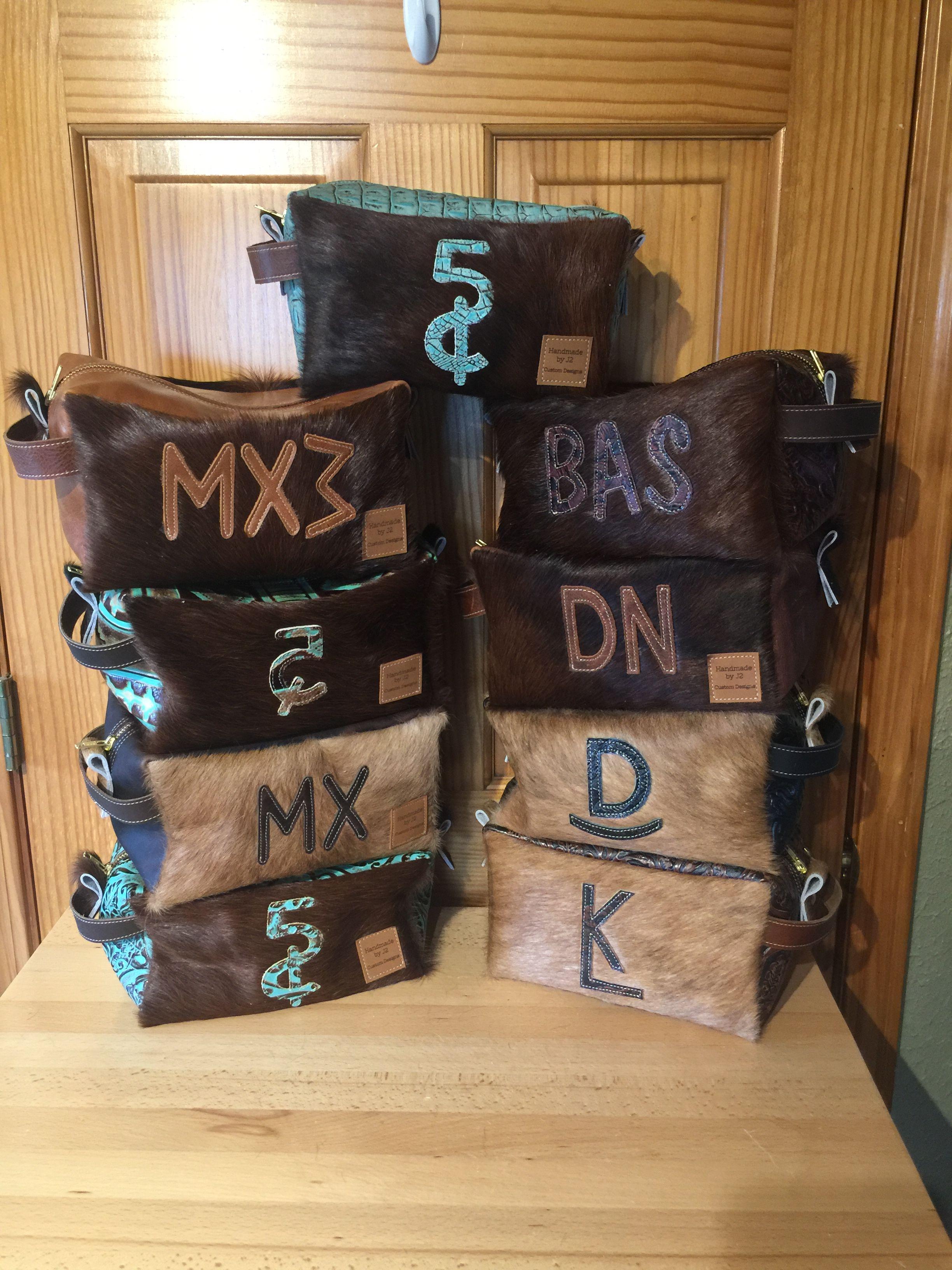 Custom made bags by J2 Custom Designs in 2020 Cowhide