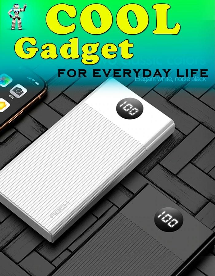 👍Useful Gadget! Portable Charging PowerBank 10000 mAh. External Battery Charger. Learn more at the link...