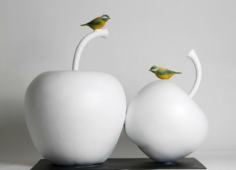 Creative process for ceramic decoration of Jingdezhen modern ...