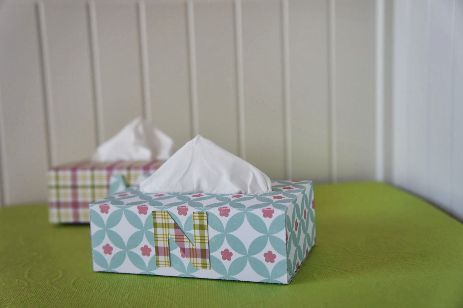 Cajas de pañuelos de papel