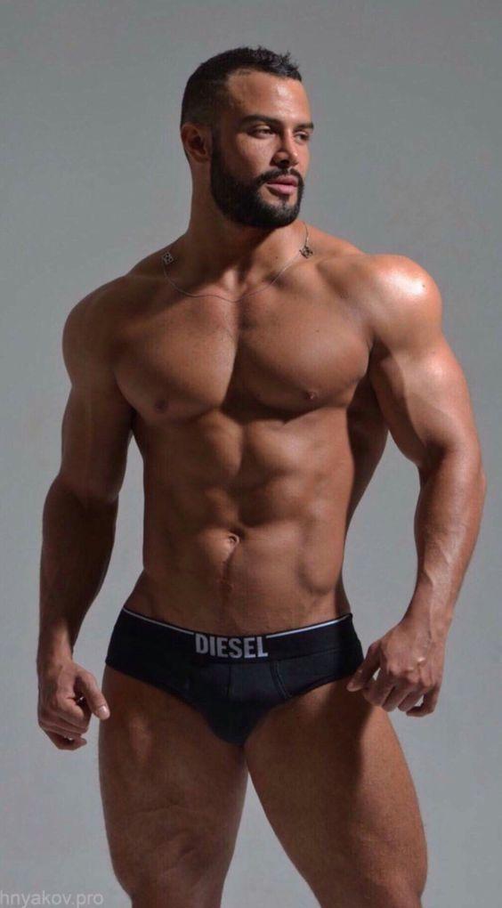 Hot guys in their underwear