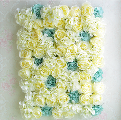 Source New arrival wedding silk flower wall stage decoration ...