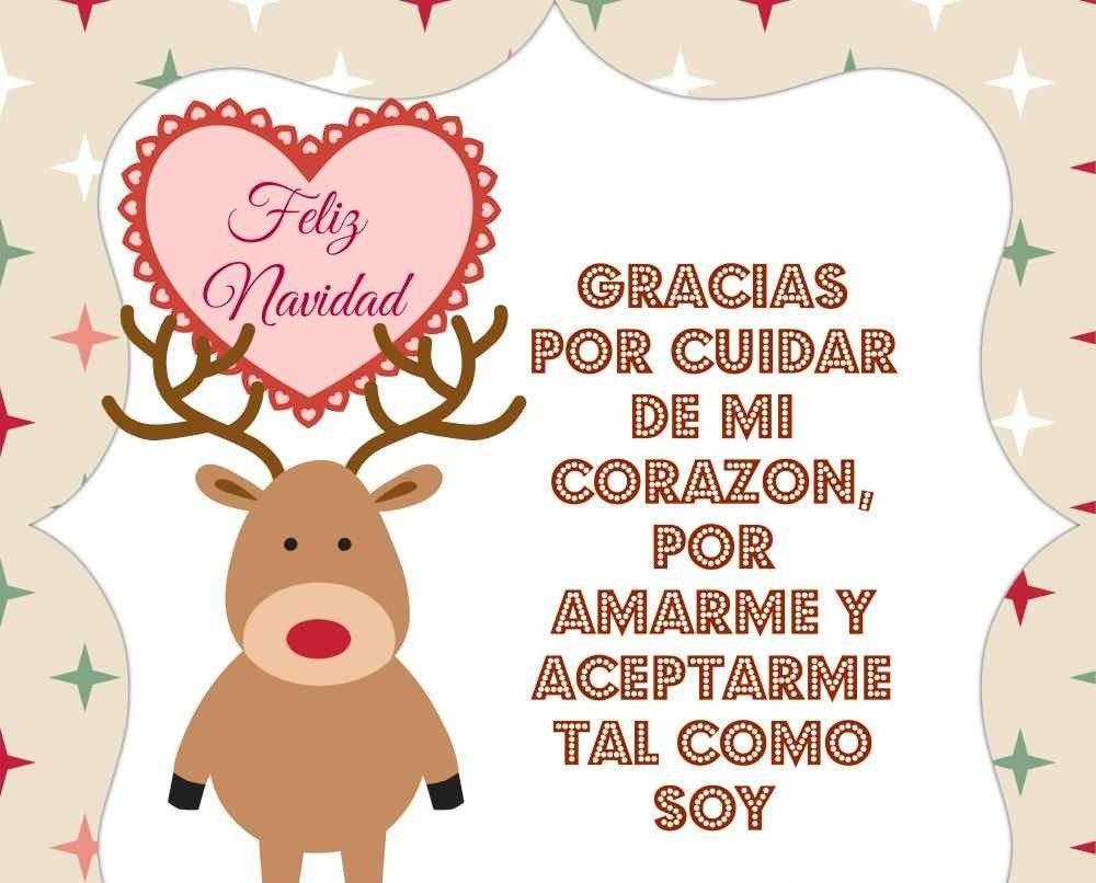 Imagenes De Amor Para Navidad Tarjetas Navidenas Con Frases De Amor