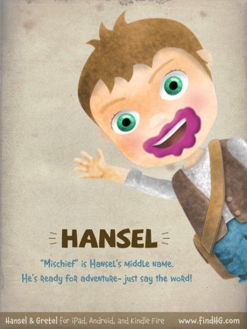 """Mischief"" is Hansel's middle name. Hansel & Gretel"