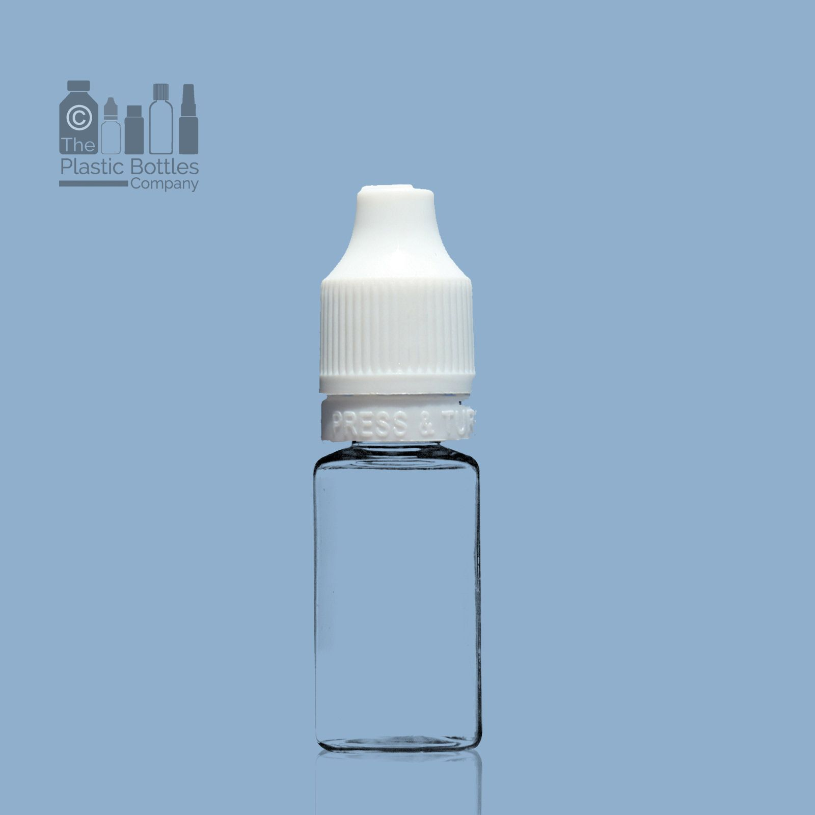 10ml Tamper Evident PET Bottle with Child Resistant Cap and