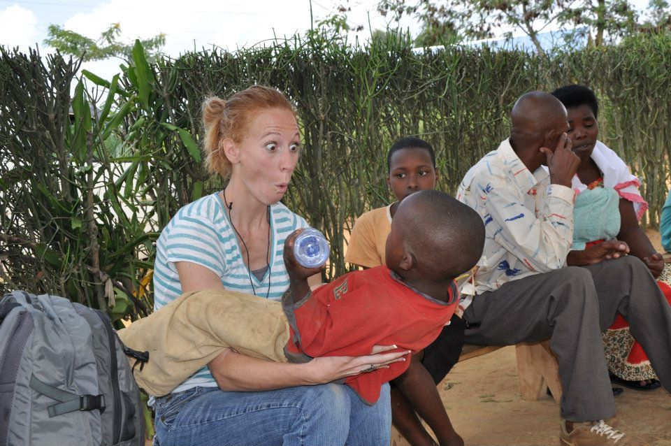 Thomasville team members enjoyed spending time with and investing in the lives of the children in our sponsorship program in Rwanda.