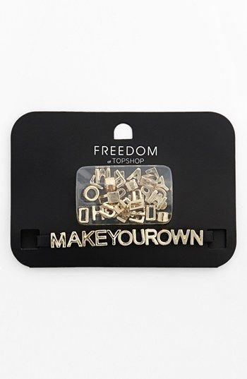 Topshop 'Make Your Own' Wristband available at #Nordstrom ...