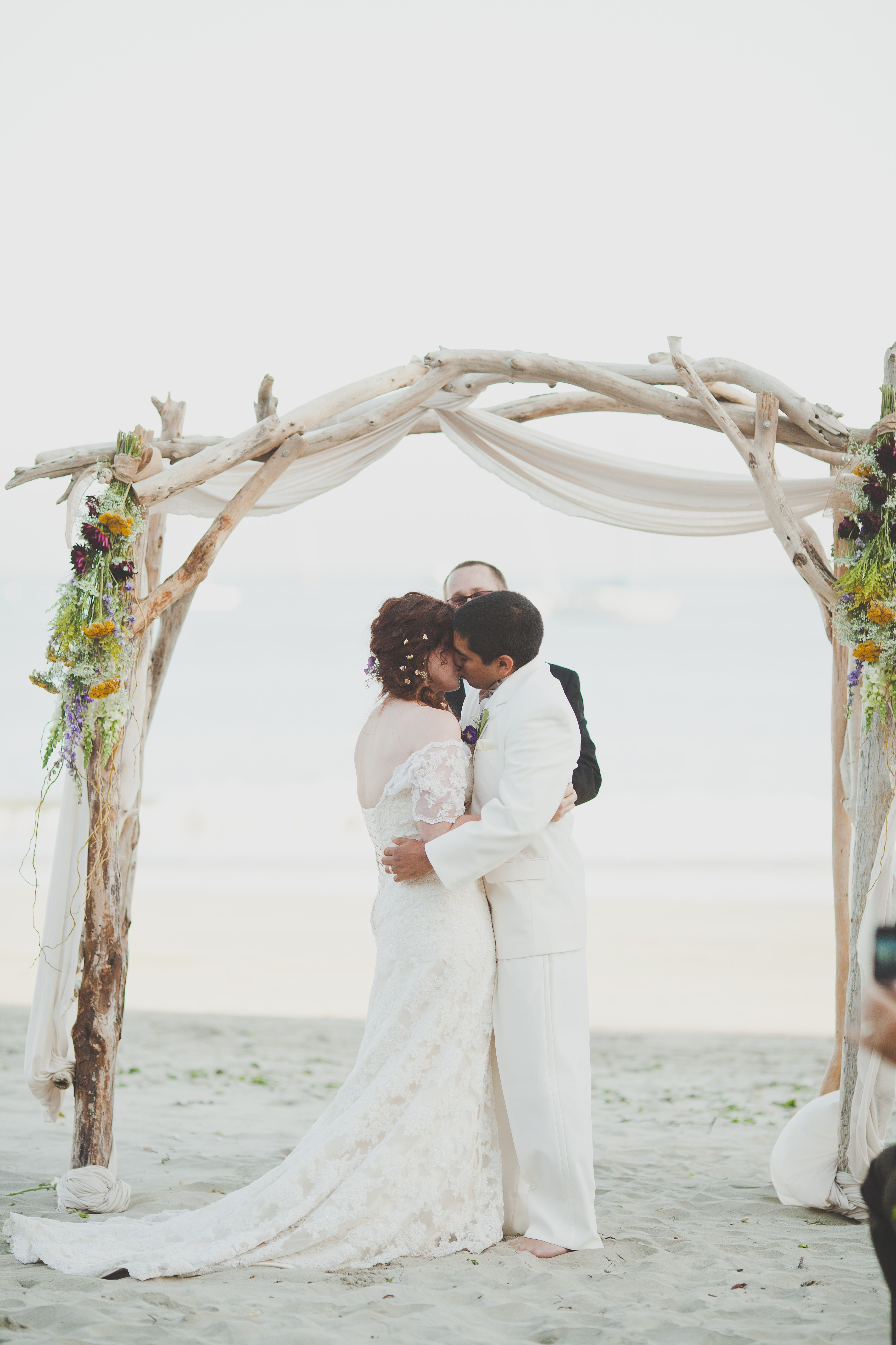Driftwood Wedding Arbor Arch Altar I Am Making This For A Wedding In May If You D Like To Ren Driftwood Wedding Arbors Driftwood Wedding Beach Wedding Arch