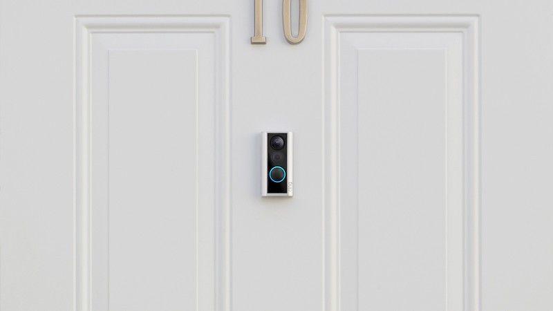 Ring's Door View Cam mounts right to your door and