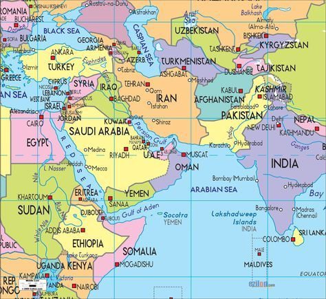 Download map of middle east high definition free images for ...