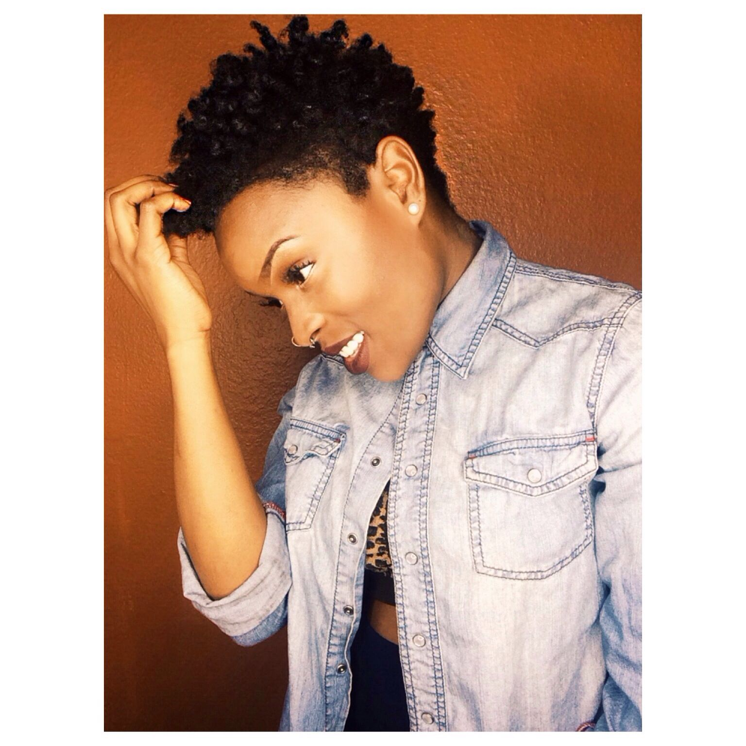 paville 4c natural hair style