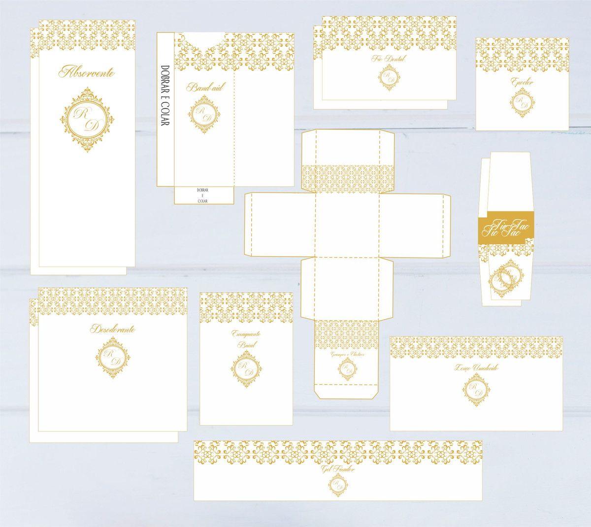 Kit Banheiro Casamento Digital Banheiro De Casamento Kit