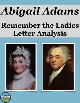 Abigail Adams Remember the La s Letter Analysis