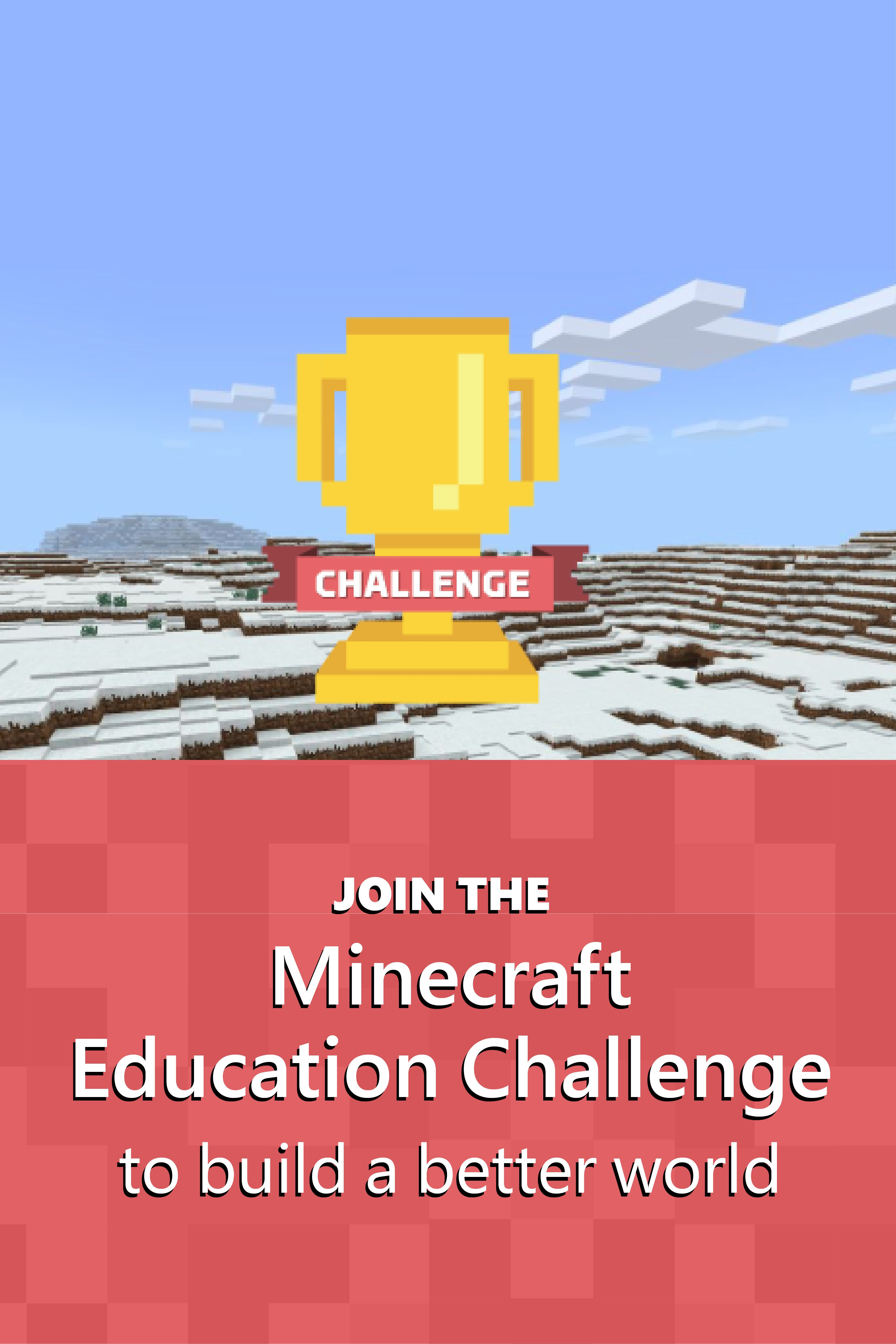 Design A Better World With Minecraft Education Edition Sustainable Schools Education Worlds Of Fun
