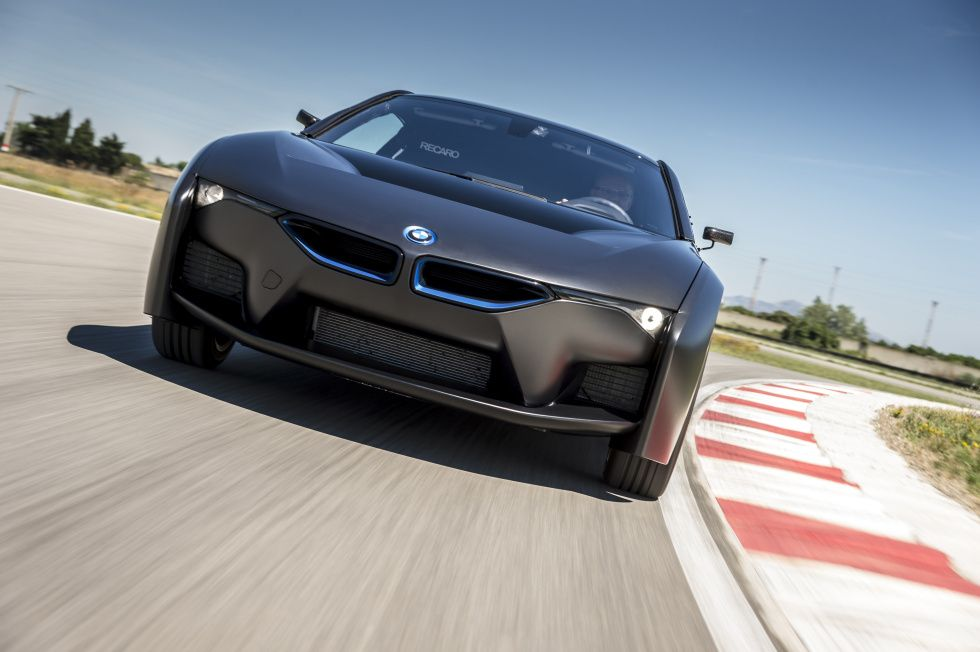 Bmw Shows Off First Hydrogen Fuel Cell Cars Crazy I8 Prototype 5