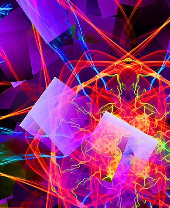 Artificial intelligence by Thomas Bryant | Abstract pictures, Abstract wallpaper, Framed prints