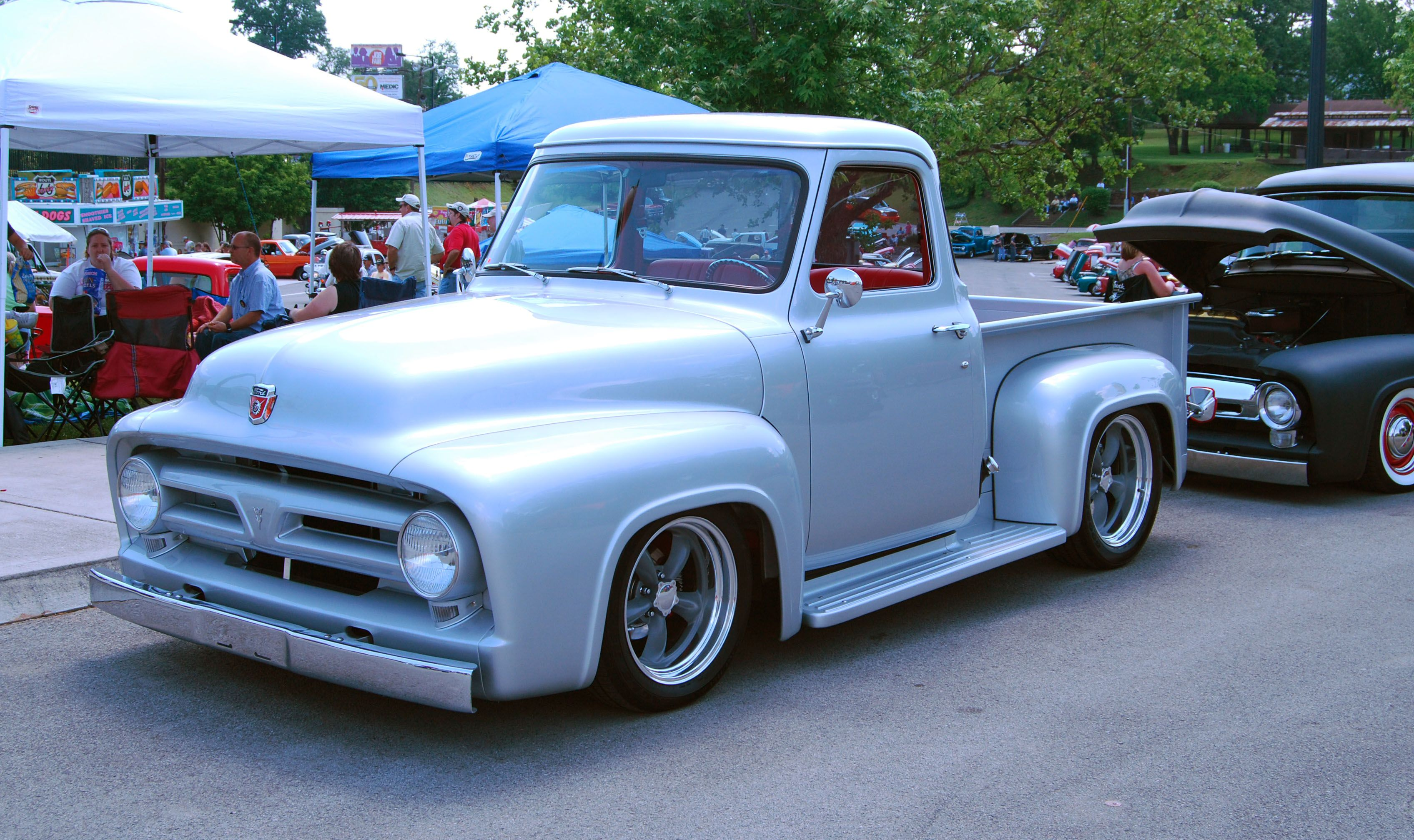 Ford pickup also great information and 1953 ford truck parts at f100central