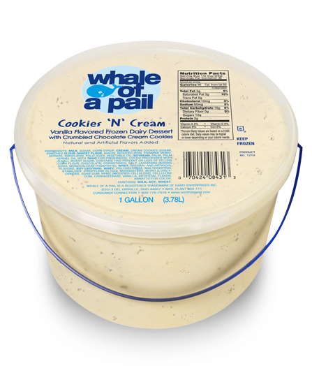 Whale-of-a-Pail | Food, Baking ingredients, Cookies, cream