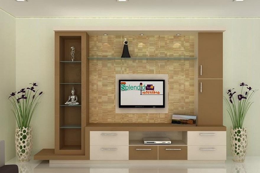 Tv Units By Splendid Interior Designers Pvt Ltd In 2020 With