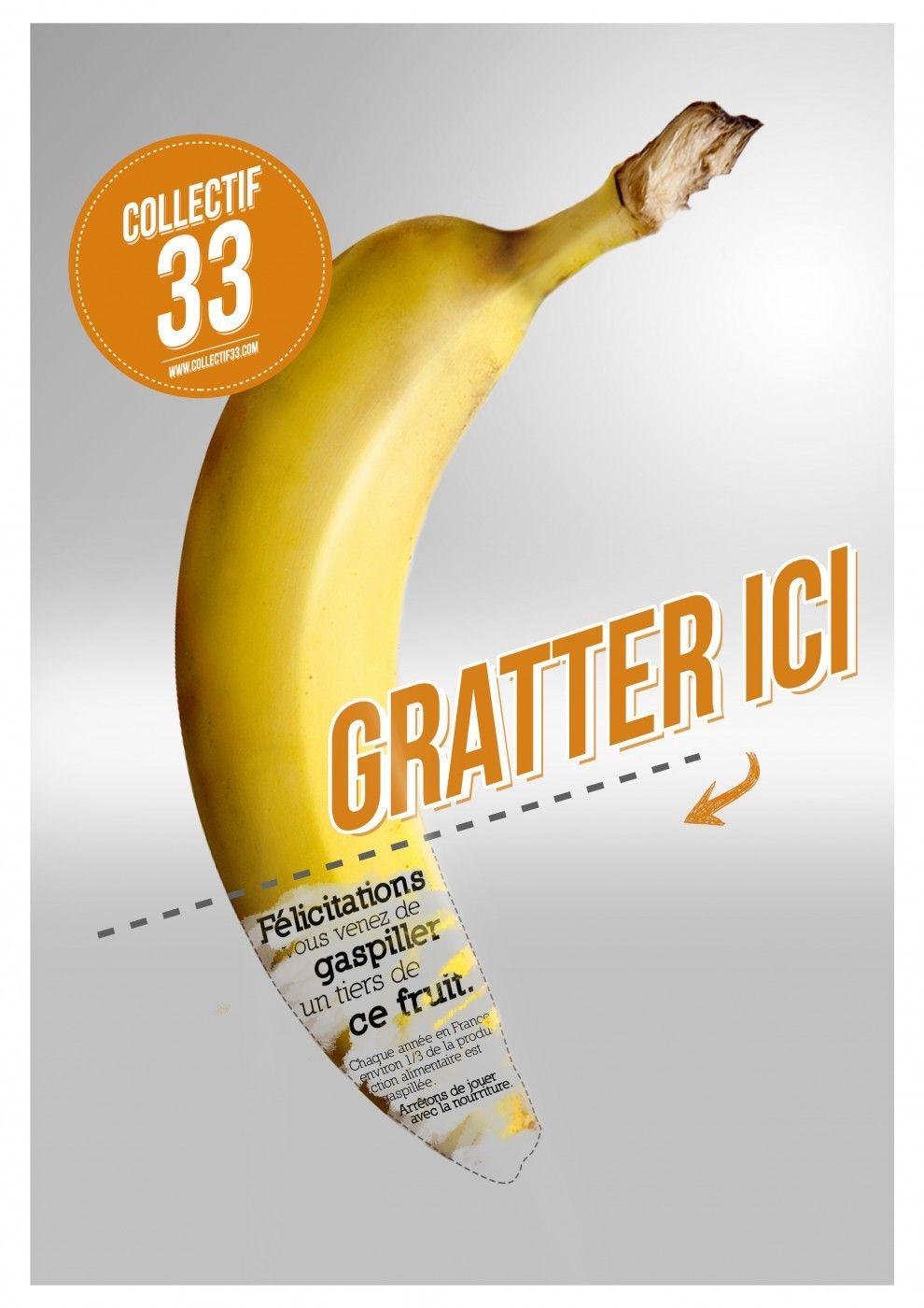 Préférence Gaspillage Alimentaire INSEEC - SUP DE PUB | PUB | Pinterest  TR45