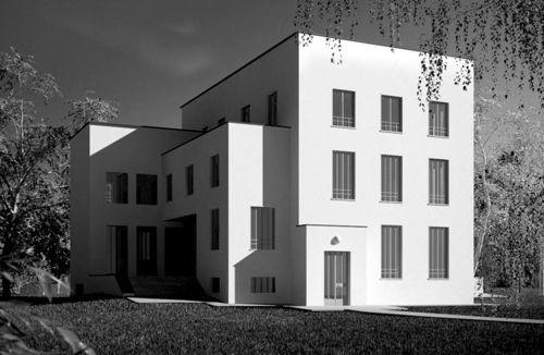 Ludwig Wittgenstein and Paul Englemann  Kundmanngasse house,Vienna, Austria, 1928