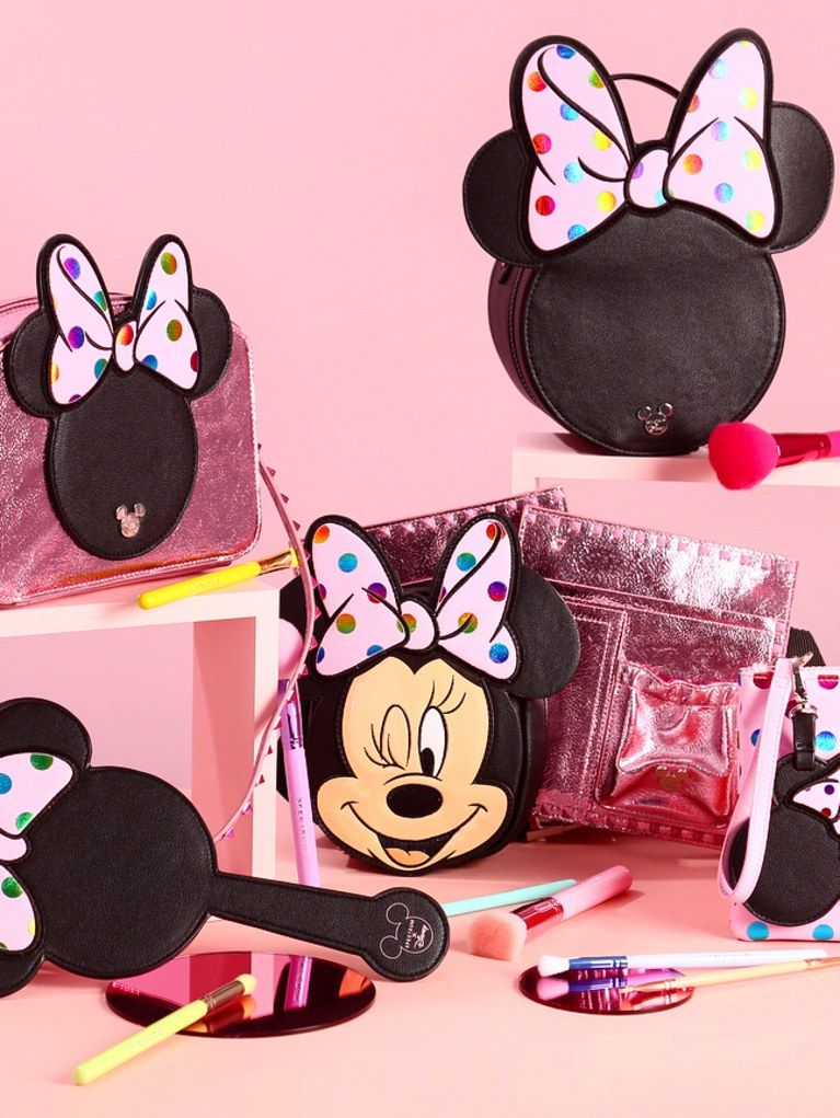The New Spectrum x Minnie Mouse Makeup Brush Collection Is