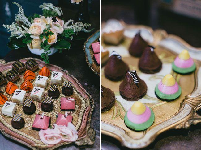 60's inspired smog shoppe wedding: shannon nick green weddings
