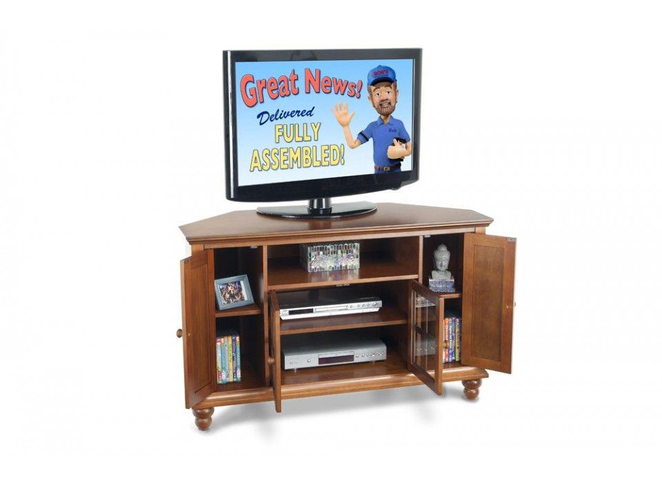 Heritage Corner Console Bob S Discount Furniture Tv Stand Bob S Discount Furniture Bobs Furniture