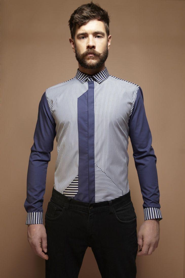 089d9a81d9c36bf Необычные мужские рубашки MCG | blusas | Рубашка мужская, Рубашки ...