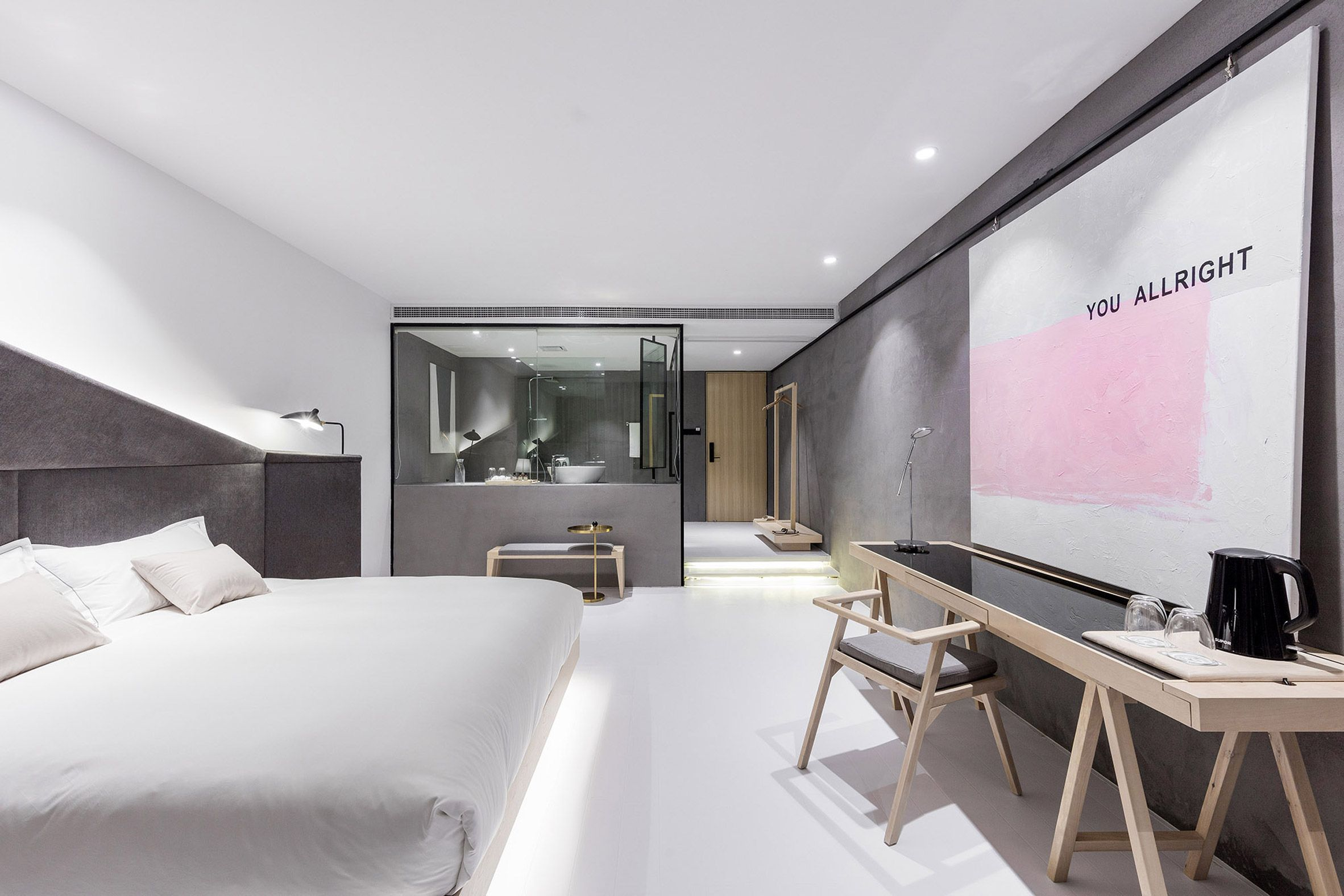 Xl Muse Designs Interiors At Chinese Hotel For Millennials