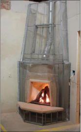 Mayan Kiva Fireplace Kit Fireplace Gallery Fireplace Fireplace Kits
