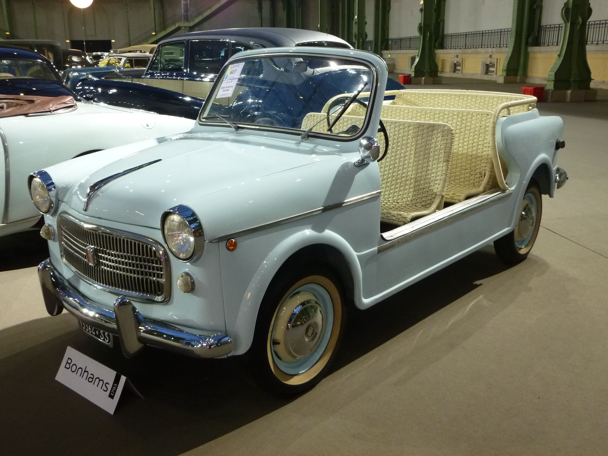 Fiat 1100 Spiagga 1956 Vente Bonhams Paris Grand Palais 2014