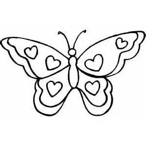 Small Butterfly Template Bing Images Heart Coloring Pages
